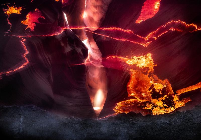 lava Fire Rim