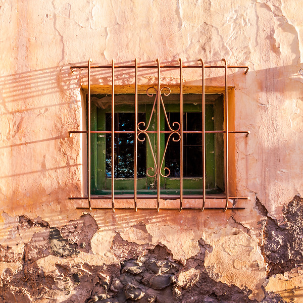 Window in Tilcara, Argentina