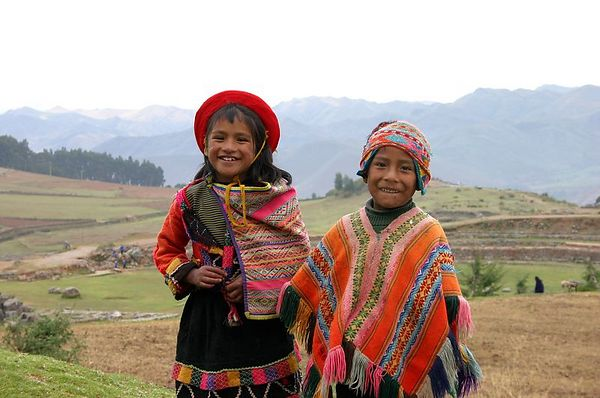 Faces from Cusco