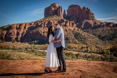 Jennifer & Daniel's Sedona Wedding