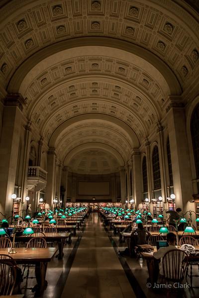 Cnetral Public Library - Winter Break in Boston 2016-17