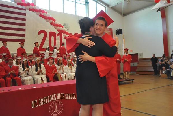 2015 Mt.Greylock Regional High School graduation-060615