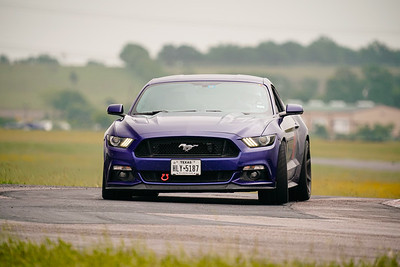 16 Blue Ford Mustang