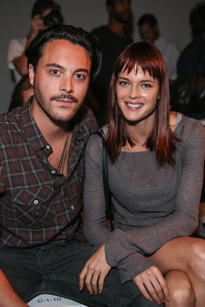NEW YORK, NY - SEPTEMBER 07:  Actor Jack Huston (L) and girlfriend, model Shannan Click attend Billy Reid's spring 2013 fashion show during Mercedes-Benz Fashion Week at Eyebeam on September 7, 2012 in New York City.  (Photo by Chelsea Lauren/Getty Images)