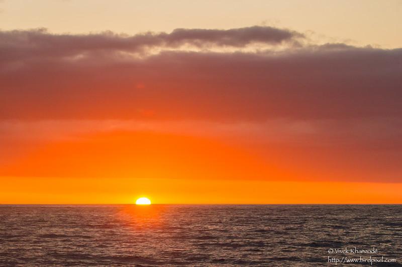Sunset - Punta Vicente Roca, Isla Isabela, Galapagos, Ecuador