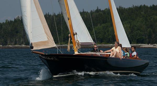Big Boat Sailing