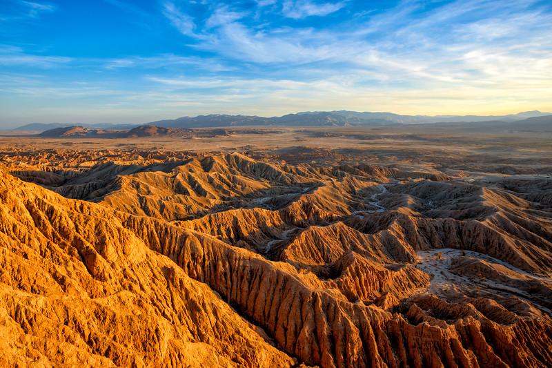 Sunlit Ridges