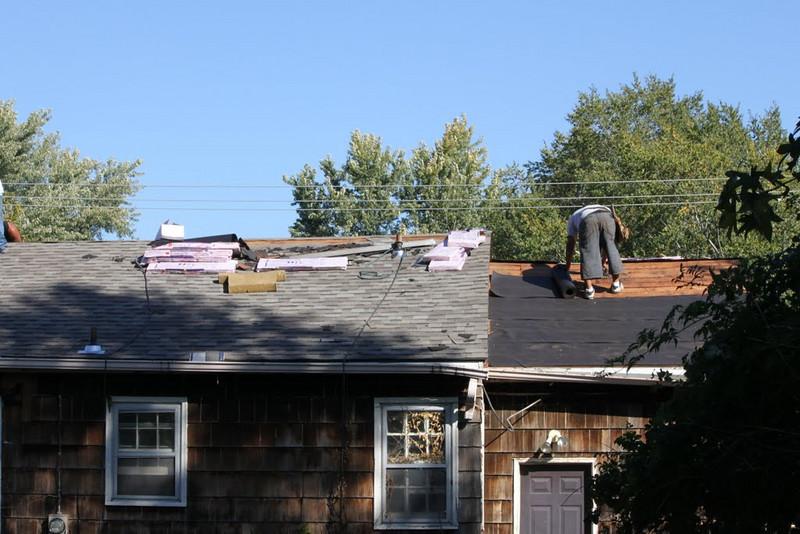 10 10-09  New roof.  rkhiles