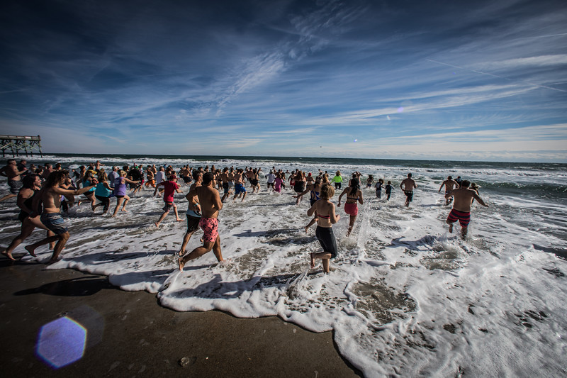 The 2018 Polar Plunge at Wrightsville Beach