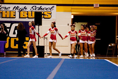 IHSA Competitive Cheer Sectional - Belvidere