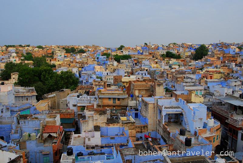View of the Blue City of Jodhpur at dawn.jpg