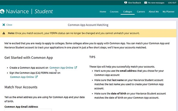 Counselors' Page