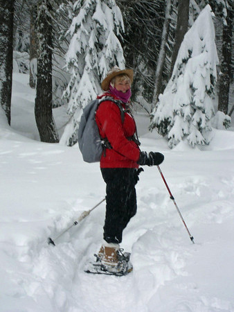 3-17-12 Yosemite Snow Shoe Trip, Photos by Carolyn Grumm