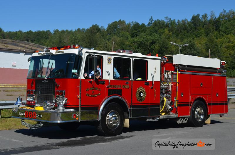 William Penn Fire Co. (West Mahanoy Township) Engine 888: 1989 Spartan/Ward 1500/500 (X-Ossining, NY)