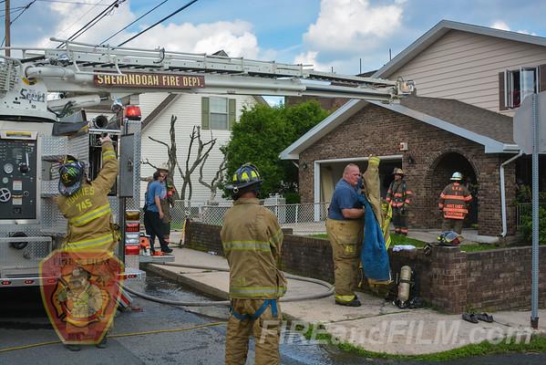 Schuylkill County - Shenandoah Boro - Dwelling Fire - 07/20/2015