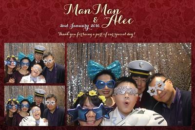 Man Man & Alec Wedding