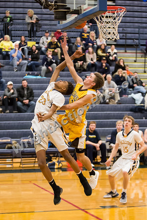 2017 03 02 Clarkston JV Basketball vs Adams