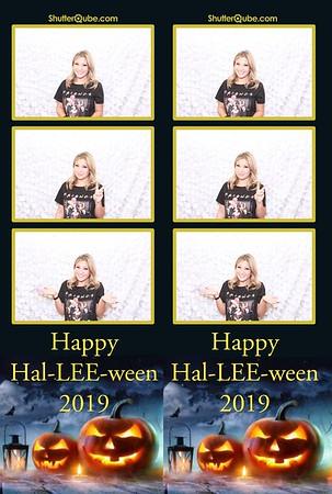 Happy Hal-LEE-ween 2019