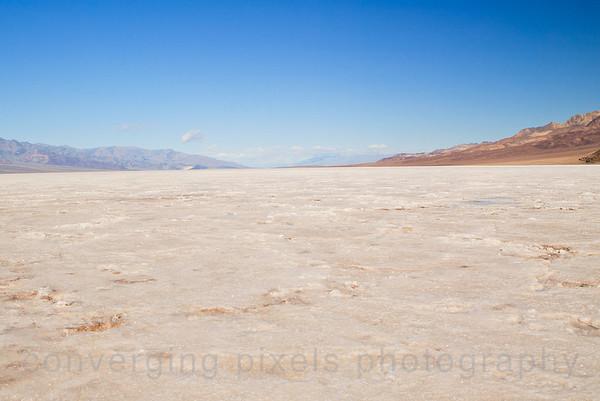 Badwater Salt Flats. -282 ft., Death Valley.  1470