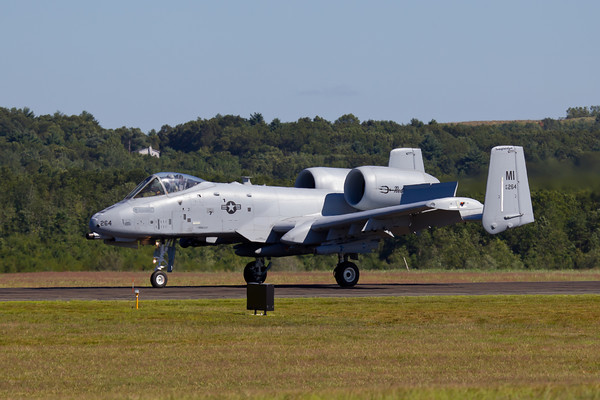 "A-10 ThunderBolt ""Warthog"" Arrival 8/20/10"
