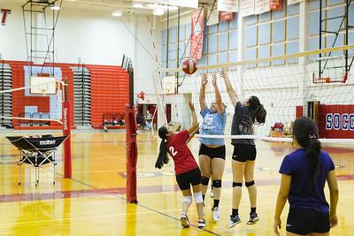 Socorro High School Volleyball Camp