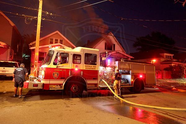 Buffalo, NY - July 4, 2010 - Working Fire on the East Side