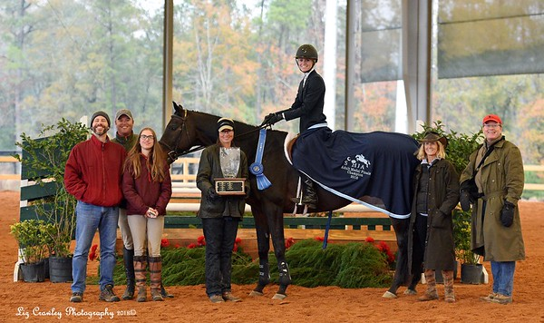 JIMMY WOFFORD ADULT MEDAL FINALS FALCONS VIEW RIDER-ANNA B MORROW TRAINER ADRIAN MACK OWNER CHARLES HAIRFIELD
