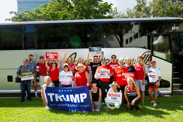 Sign Waving for Ron DeSantis Debate in Broward County - October 24th, 2018