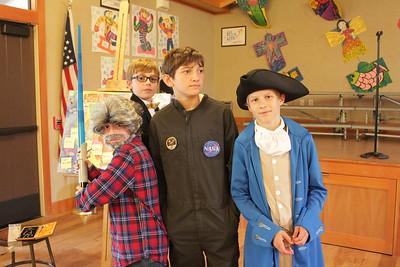 Grade 5 Living Wax Museum