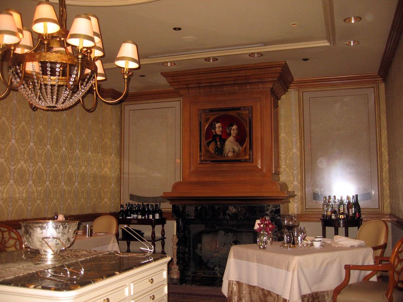 Our dining room at Victoria & Albert's