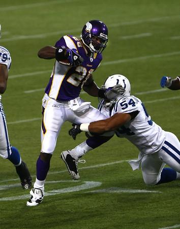 Minnesota Vikings vs Indianapolis Colts (Sept 14, 2008)