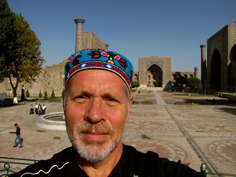 at the Ragistan in Samarkand
