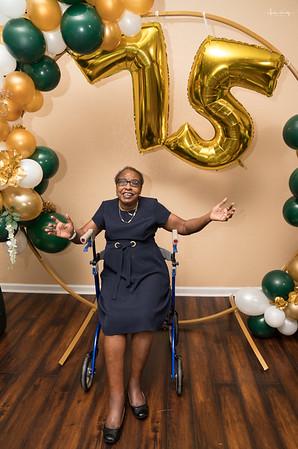 Delores Howard's 75th Birthday Dinner