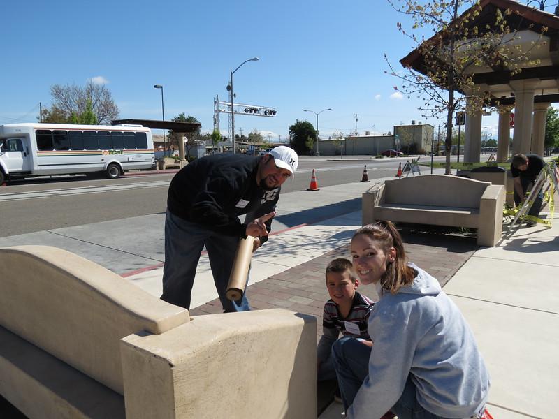 Transit Center Project - Photos by Keri Krass.