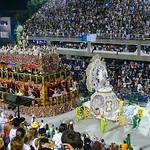 The famous carnaval of Rio de Janeiro, Brazil