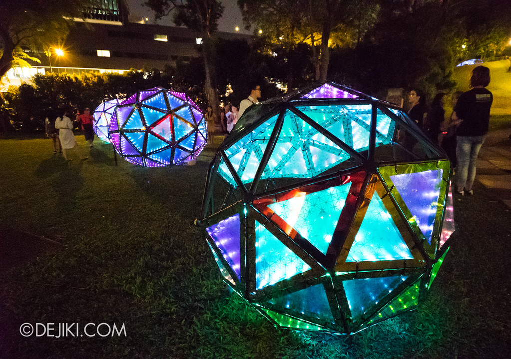 Singapore Night Festival 2017 / Tessellations of Time by LiteWerkz X 3M photo multiple