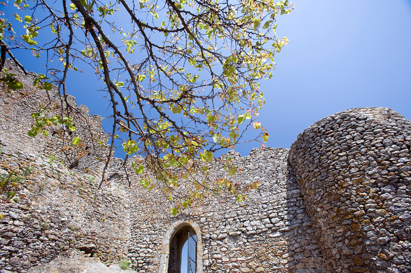 The Castle of Montanchez, Extremadura, Spain