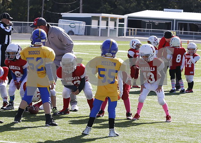 10/28/17 Greater East Texas Pee Wee Football League - PLAYOFFS by Cori Smith