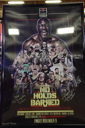 "2018-11-09: WrestlePro: ""No Holds Barred"" @ Rahway, NJ"