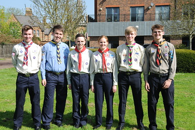 Queen's Scout Award Recipients - Windsor 2018