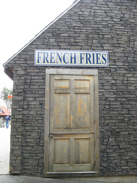 Minuteman Fried Clams door.
