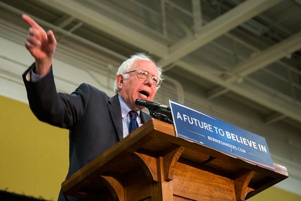 Bernie Sanders Rally (Purdue University)