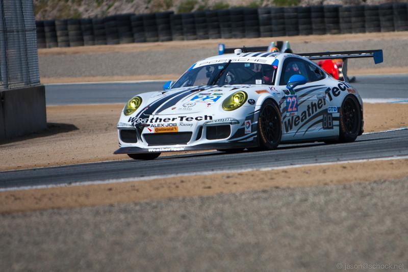 #22 Alex Job Racing Porsche 911 GT America