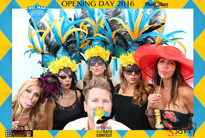 Opening Day Del Mar Race Track Hat Contest 2016