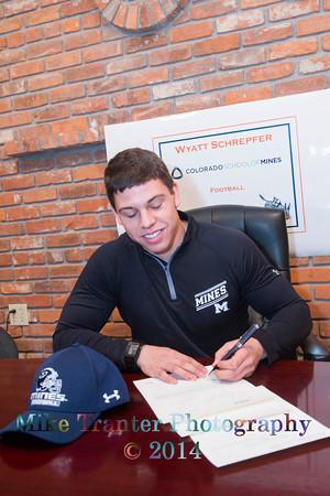 Wyatt's Signing Day
