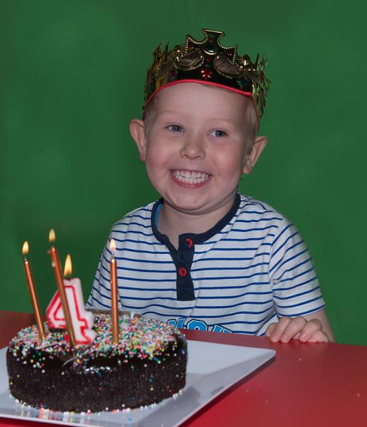 Landons 4th Birthday