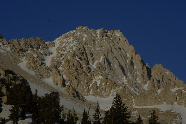 Mt. Langley NE Couloir, May 1-3, 2009