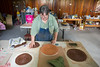 Sr. Melissa of Mt St Scholastica in Atchison, makes cool pottery & other artistic stuff