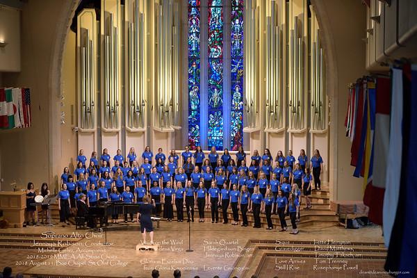 All-State Choir, 2018 August