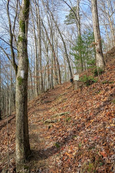 Appalachian Trail -- 1,950'